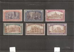 Italie ( 163/168 X -MH) - 1900-44 Victor Emmanuel III.