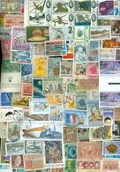 4 KILO * Environ 80.000 MIX TEMBRES VRAC Sans Papier DU MONDE De Charité - Stamps