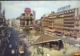 Bruxelles - La Place De Brouckere - Formato Grande Viaggiata Mancante Di Affrancatura – E 8 - Non Classificati