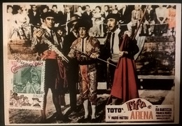 CARTOLINA TOTO' FIFA E ARENA - Altre Collezioni