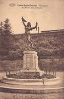 Court-Saint-Etienne Monument Aux Morts Pour La Patrie - Court-Saint-Etienne