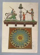 DK.- Roskilde Cathedral, Denmark. The Medieval Clock. 1975 - Denemarken