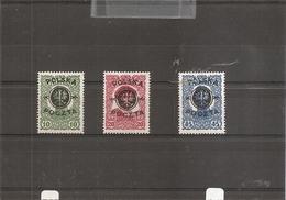 Pologne ( 108/110 X -MH) - 1919-1939 Republic