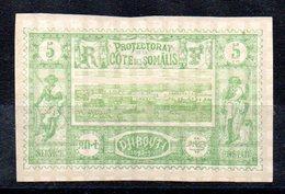 SOMALIS - YT N° 27 - Neuf (*) - Cote: 14,00 € - Costa Francese Dei Somali (1894-1967)