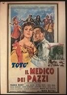 CARTOLINA IL MEDICO DEI PAZZI (TOTO') - Altre Collezioni