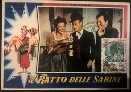 CARTOLINA IL RATTO DELLE SABINE (TOTO') - Autres Collections