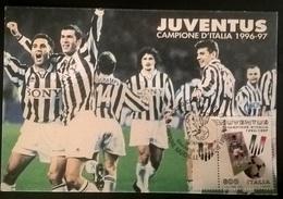 CARTOLINA JUVENTUS 1995 - Autres Collections