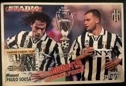 CARTOLINA JUVENTUS 1996 - Altre Collezioni