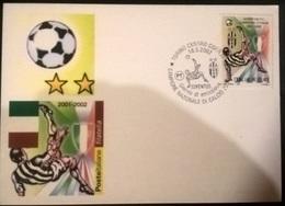 CARTOLINA JUVENTUS 2002 - Autres Collections