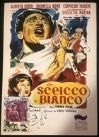 CARTOLINA LO SCEICCO BIANCO - Altre Collezioni