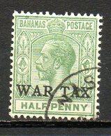 AMERIQUE CENTRALE - BAHAMAS - (Colonie Britannique) - 1918-19 - N° 55 - 1/2 P. Vert - (George V) - Amérique Centrale