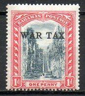 AMERIQUE CENTRALE - BAHAMAS - (Colonie Britannique) - 1918-19 - N° 56 - 1 P. Rouge Carmin Et Noir - (George V) - Amérique Centrale