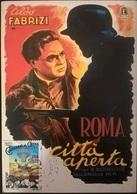 CARTOLINA ROMA CITTA' APERTA - Autres Collections