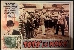CARTOLINA TOTO' LE MOKO' - Altri