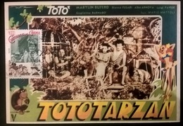 CARTOLINA TOTO'TARZAN - Altre Collezioni