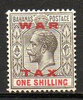 AMERIQUE CENTRALE - BAHAMAS - (Colonie Britannique) - 1919 - N° 68 - 1 S. Noir Et Rouge - (George V) - Central America