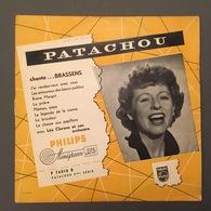 PATACHOU Chante BRASSENS 25 Cm édition Pochette Rare - Special Formats