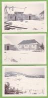 3 Photographie Originale Saint Pierre 15 Cantal Mairie Ecole Chantier Uranium - Lieux