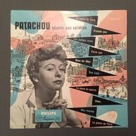 PATACHOU Chante Aux Variétés 2 Titres De Léo Ferré 25 Cm PAYS-BAS - Special Formats