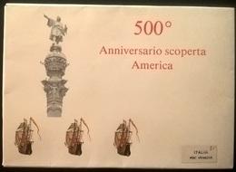 ITALIA 1992 FDC 500° SCOPERTA DELL'AMERICA - Autres Collections