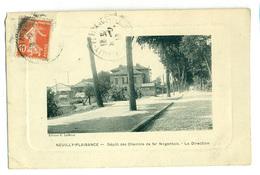 93 Neuilly-Plaisance Dépôt Du Chemin De Fer Nogentais - Transport Urbain En Surface