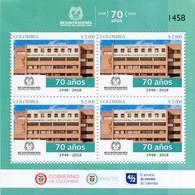 Lote 2018-23P, Colombia, 2018, Pliego, Sheet, Registraduría Nal Del Estado Civil, National Registry Of Civil Status - Colombia