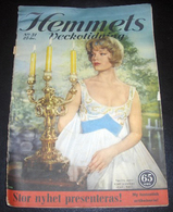 SWEDEN Hemmets Veckotidning 1959 Swedish Magazine Romy Schneider - Books, Magazines, Comics