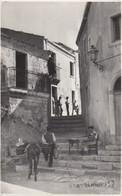 CASTELMOLA-MESSINA-BELLISSIMA CARTOLINA ANIMATA -VERA FOTOGRAFIA-VIAGGIATA - Messina