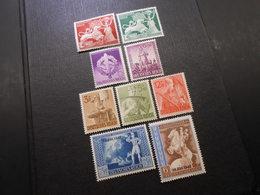 D.R.Mi 816**/817**/818**/819**/850**/851**/853**/823**/824* - 1942/1943 - Mi 15,20 € - Unused Stamps