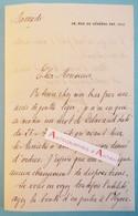 L.A.S Maurice HERBETTE Ambassadeur Prix De L'Académie Française Elysée Delavaud Villers Sur Mer- Lettre Autographe LAS - Autographes