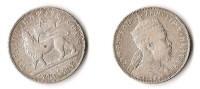 ETHIOPIE  1/2  BIRR 1894  ARGENT  RARE ! - Ethiopie