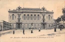 13 - MARSEILLE - Ecole Des Beaux-Arts Et Bibliothèque De La Ville - Monuments