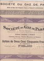 Th4  GAZ : PARIS 1907  (08 A) - Autres