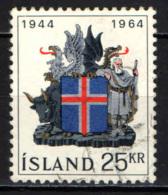 ISLANDA - 1964 - 20° ANNIVERSARIO DELLA REPUBBLICA - USATO - 1944-... Republik
