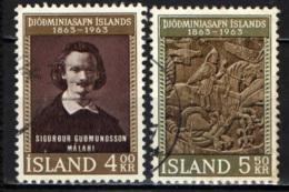 ISLANDA - 1963 - CENTENARIO DEL MUSEO NAZIONALE - USATI - 1944-... Republik