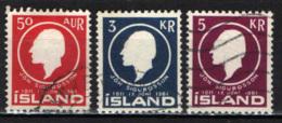 ISLANDA - 1961 - JON SIGURDSSON - STORICO - 150° ANNIVERSARIO DELLA NASCITA - USATI - 1944-... Republik