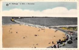 ZEEBRUGGE - Le Môle - Havendam - Zeebrugge
