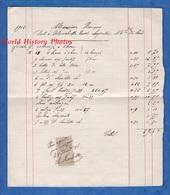 Document De 1906 - BRETEUIL (Oise)- M. Rançon Doit à HUCHETTE REVEL Charpentier Marchand De Bois - Timbre Quittance Taxe - France