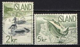 ISLANDA - 1959 - PESCI - FISHES - USATI - Usati