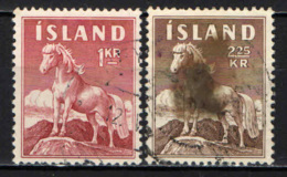 ISLANDA - 1958 - PONY D'ISLANDA - USATI - Usati