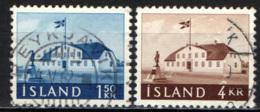 ISLANDA - 1958 - ANTICA SEDE DEL GOVERNO - USATI - 1944-... Repubblica