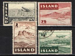 ISLANDA - 1947 - AEROPLANO IN VOLO SULL'ISLANDA - USATI - Usati