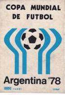 PARCHE COPA MUNDIAL DE FUTBOL ARGENTINA 1978 ESCUDO FUTBOL SOCCER  WORLD CUP SIZE 11x15cm- BLEUP - Patches