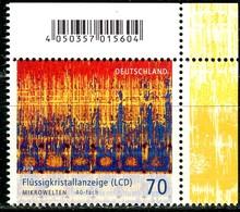 BRD - Mi 3427 ECKE REO - ** Postfrisch (D) - 70C    Mikrowelten, Flüssigkristallanzeige - Ausgabe 18.12.2018 - [7] République Fédérale
