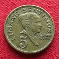 Philippines 5 Sentimos 1974 KM# 197  Filipinas Pilipinas - Philippines