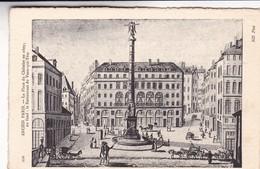 L'ANCIEN PARIS.  LA PLACE DU CHATELET EN 1809, RESTAURANT DU VEAU QUI TETE. ND PHOT. CIRCA 1900s NON CIRCULEE- BLEUP - France