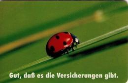 TARJETA TELEFONICA DE ALEMANIA. Seguro Alemán 2 - Ladybug. SRL 1404 - S15 03.94 (295) - Coccinelle