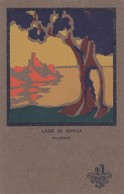 MALCESINE-VERONA-LAGO DI GARDA-CARTOLINA DATATA 16-8-1927-AL RETRO CORRISPONDENZA AMOROSA-VIAGGIATA IN BUSTA - Verona