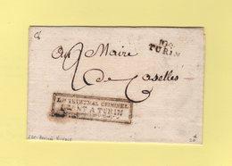 Turin - 104 - Le Tribunal Criminel Seant A Turin - Sans Correspondance - Arrivee Nivose - Departement Conquis Du Pô - Italy