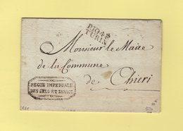 Turin - 104 - Port Paye - Regie Imperiale Des Sels Et Tabacs - Sans Correspondance - Departement Conquis Du Pô - Italy
